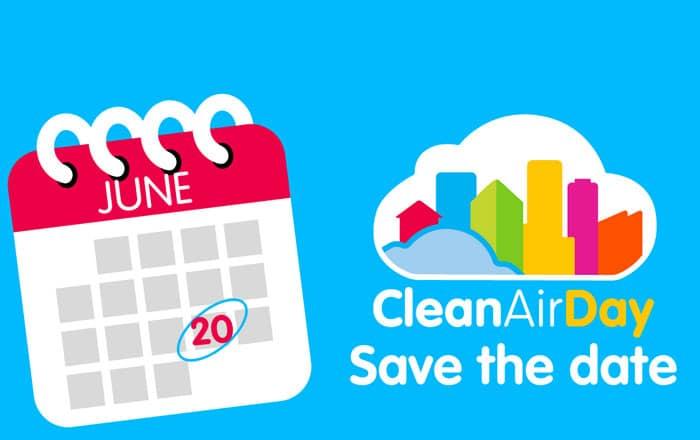20th June – Clean Air Day 2019